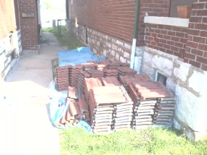 Clay / Tera Cotta Roofing Tiles for sale