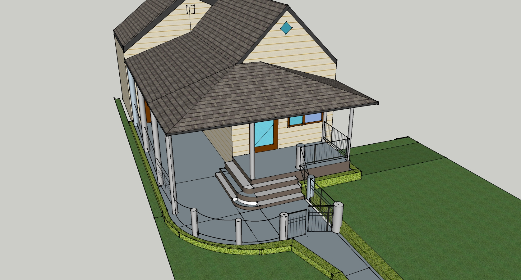 Misc Front Porch Cad Designs By Scotty Scotts Contracting