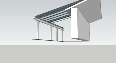 Open Beam Ceiling Option