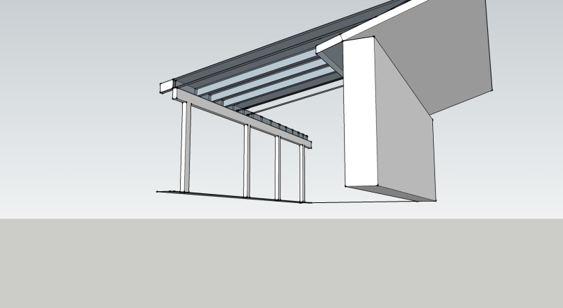 Open beam ceiling option st louis renewable energy for Open beam front porch