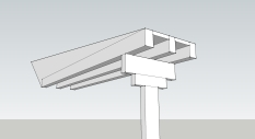 Post Beam Option 5 With Open Beam Ceiling