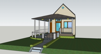 Misc Front Porch CAD Designs