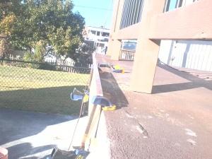 Concrete Form for Repairing Concrete Walkway #2