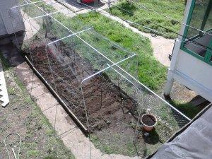 Overhead Garden Screen Protector