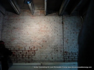 Scotts Contracting Decorative Interior Tuckpointing Soulard Red Mortar Mix Type N