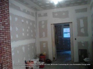 Scotts Contracting Drywall Mud and Tape Photos- Serving St Louis MO