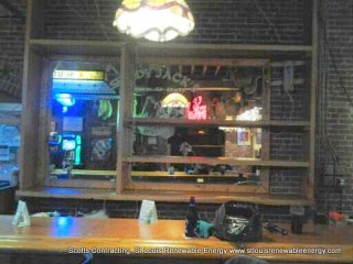 Before the Waitress Station was added to the New Bar Design-Scotts Contracting St Louis MO