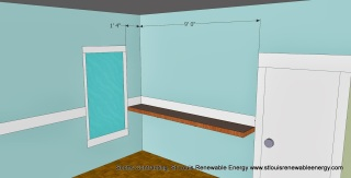 CAD 3D Kitchen Counter Top Layout Plan-Scotts Contracting-StLouis MO