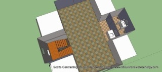 CAD by Scotty Scotts Contracting-CAD Open Floor Plan per Clients Request
