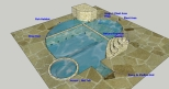 Natural Swimming Pool Design View 2
