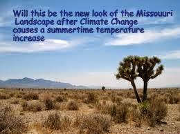 Will Missouri Farmland look like the High Plains Desert Regions when Climate Change causes increased temperatures?